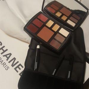 Chanel palette make up